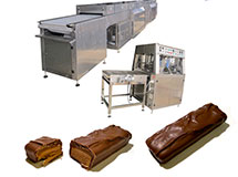 MTY CHOCOLATE ENROBER MACHINE